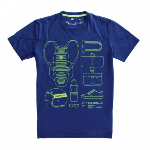 T-SHIRT CITY PACK, BLU